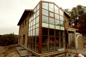 casa ecologica ad Alcatraz in Umbria