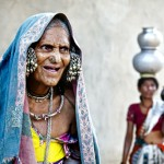 Andhra Pradesh: anziana donna Lammani