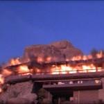 La scena dell'esplosione in zabrinskie point