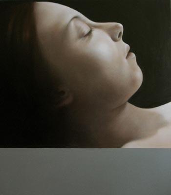 Laura Baldassarri, vincitrice della sezione pittura R.A.M. 2009