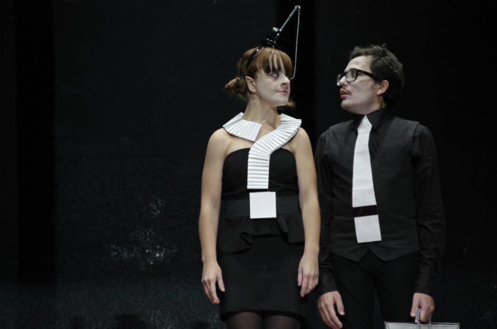 Compagnia Carullo Minasi, T/Empio – critica della ragion giusta (foto di Chiara Ferrin)