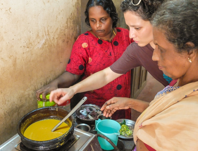 cucina con donne