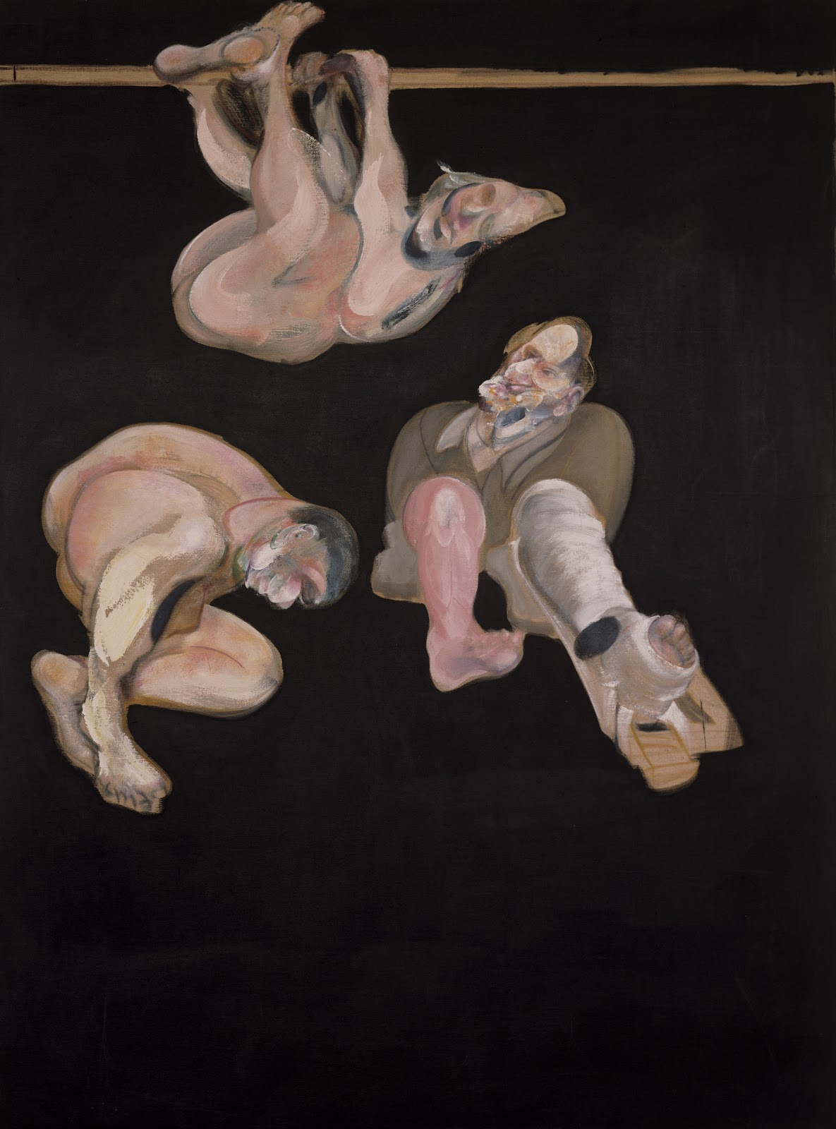Francis Bacon, Three Studies from the human Body, 1967