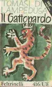 """vecchia copertina del """"Gattopardo"""" di Giuseppe Tomasi di Lampedusa"""