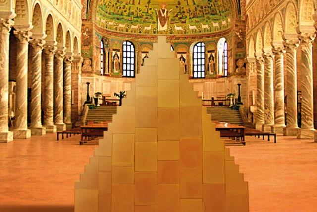 L'installazione di Wolfgang Laib a Ravenna