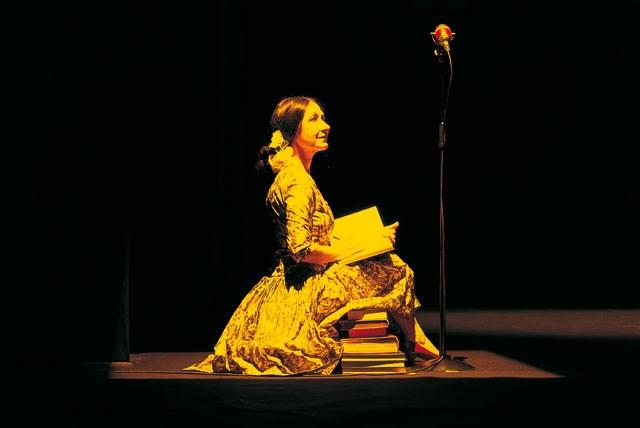 Teatro delle Albe, Vita agli arresti di Aung San Suu Kyi - foto di Enrico Fedrigoli
