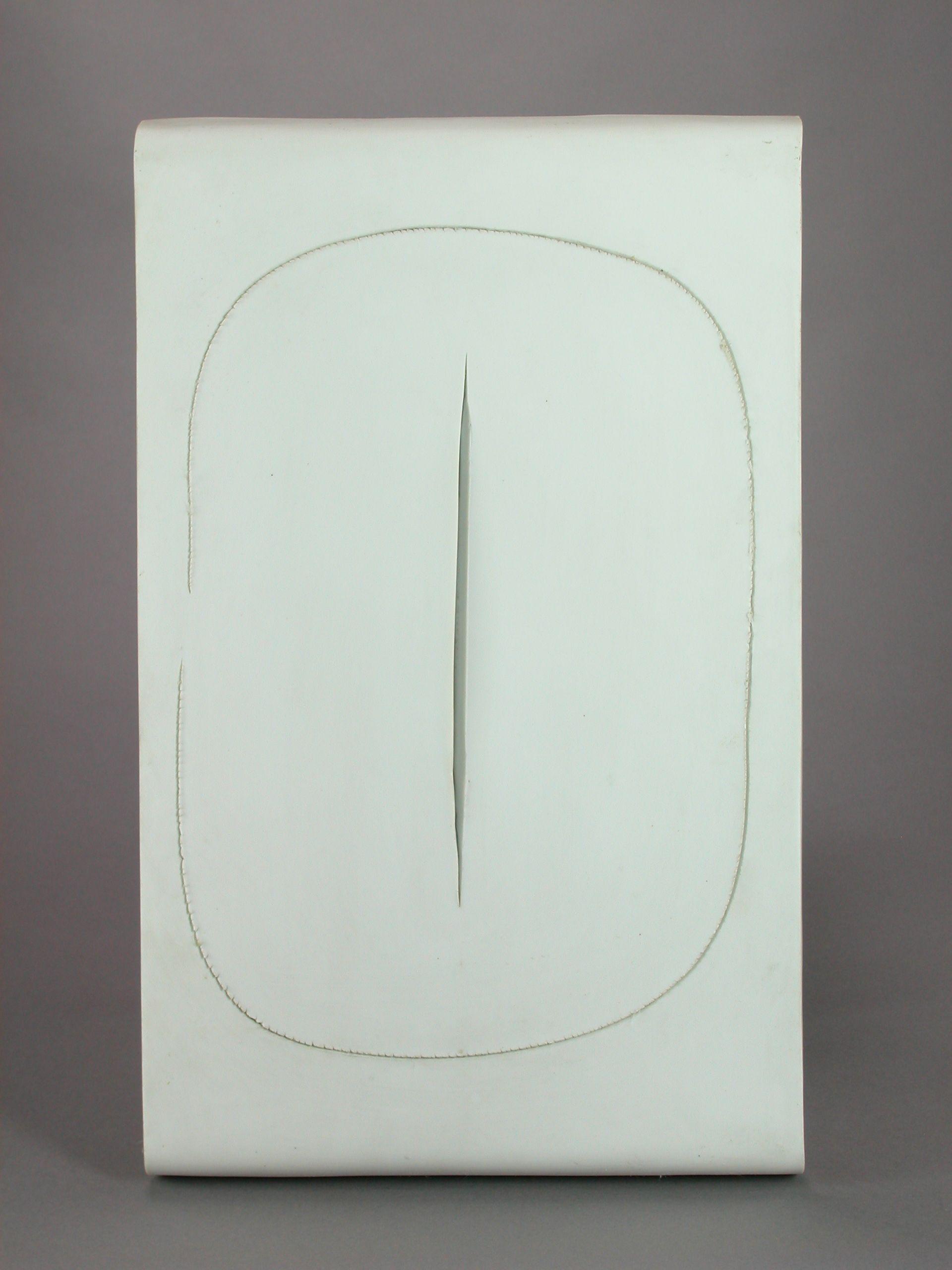 Lucio Fontana, Concetto Spaziale,1957