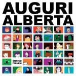 """La copertina di """"Auguri Alberta"""""""