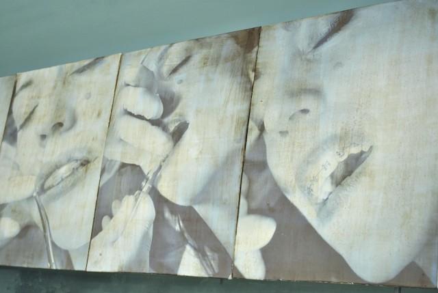 Silvia Calcagno, My July, 2012, grès smaltato 1265°, h40x800 cm