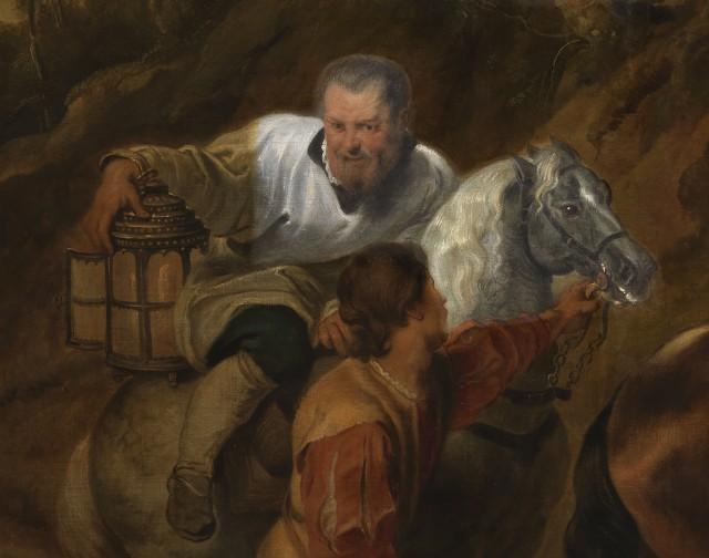 """Particolare de """"La carità del Conte Ferdinando"""" di Pieter Paul Rubens"""
