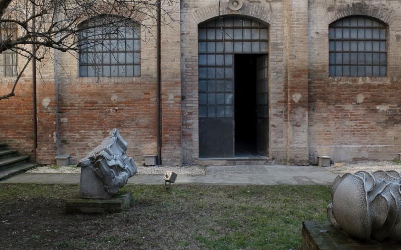 Il giardino del Museo Carlo Zauli