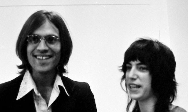 Eric Andersen con Patti Smith nei primi anni Settanta