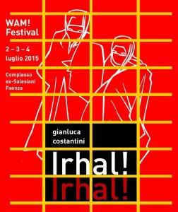Il manifesto disegnato da Gianluca Costantini