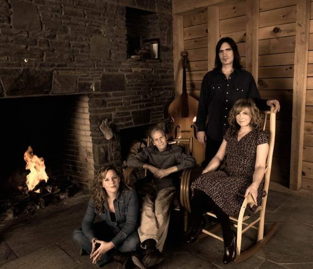 Larry Campbell e Teresa Williams con Amy Helm e Levon Helm