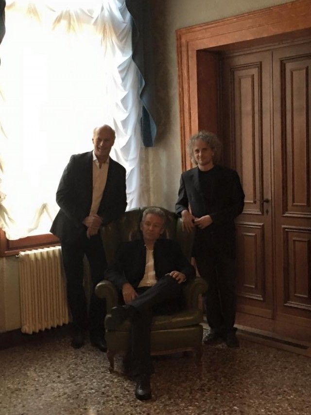 Martino Coppo, Paolo Bonfanti e Roberto Bongianino a Palazzo Albrizzi