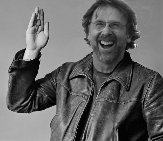 Fotomontaggio Trey Anastasio in classica foto di Jerry Garcia