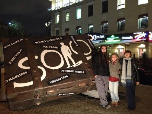 Elena Bucci, Raffaele Bassetti e Loredana Oddone al Festival 'Solo', Mosca