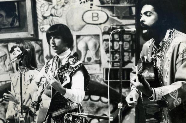 Os Mutantes con Gilberto Gil