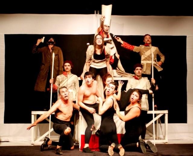 Ubu rex, Compagnia degli Scarti, 10 giugno 2012 - foto di Emanuela Giurano