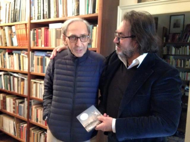 Carlo Muratori con Franco Battiato