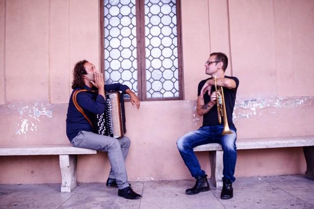 Fabrizio Bosso e Luciano Biondini (foto di Giovanna Onofri)
