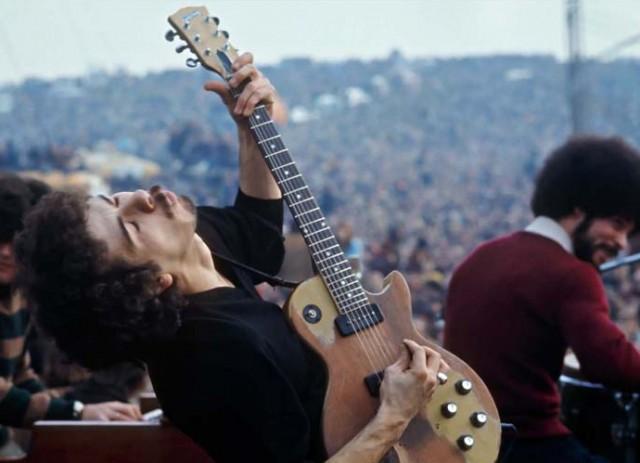 Carlos Santana al Festival di Altamont – 1979