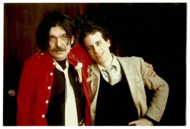 Gary Lucas con Captain Beefheart