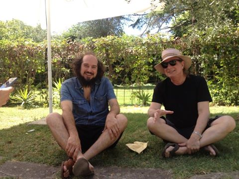 Gary Lucas con Vinicio Capossela.