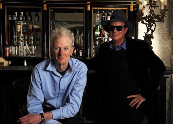 Gary Lucas con Peter Hammill.