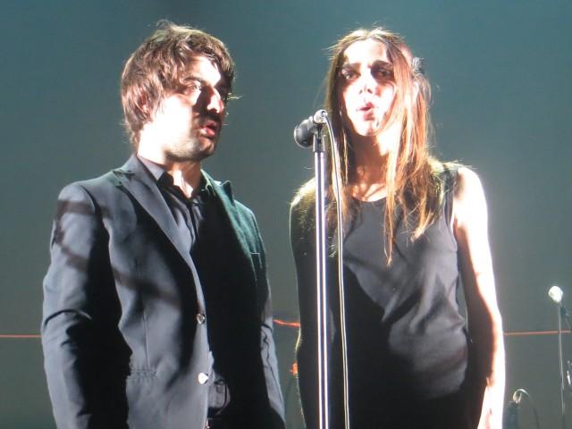 PJ Harvey con Alessandro Asso Stefana dei Guano Padano