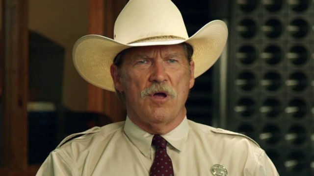 Jeff Bridges in una scena del film...