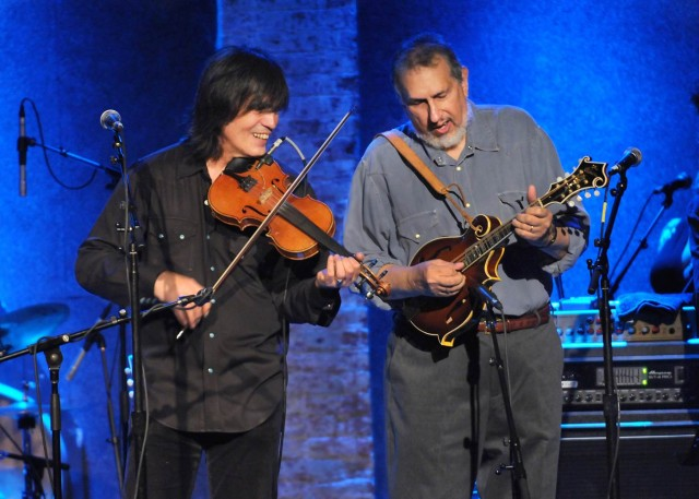 David Bromberg con Larry Campbell
