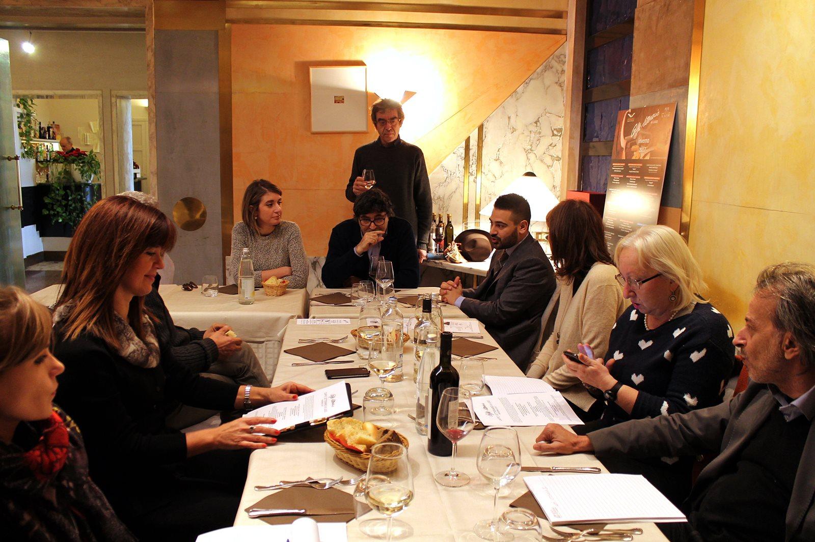 Conferenza stampa presentazione Caffè letterario di Lugo, inverno 2017