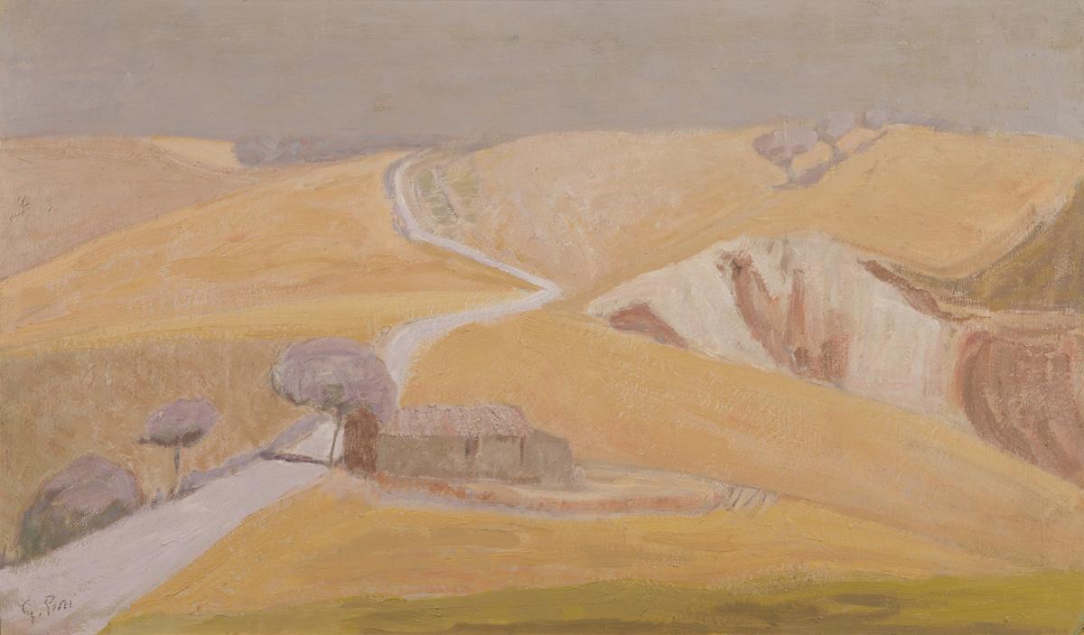 """Giovanni Pini, """"Inverno in collina"""""""